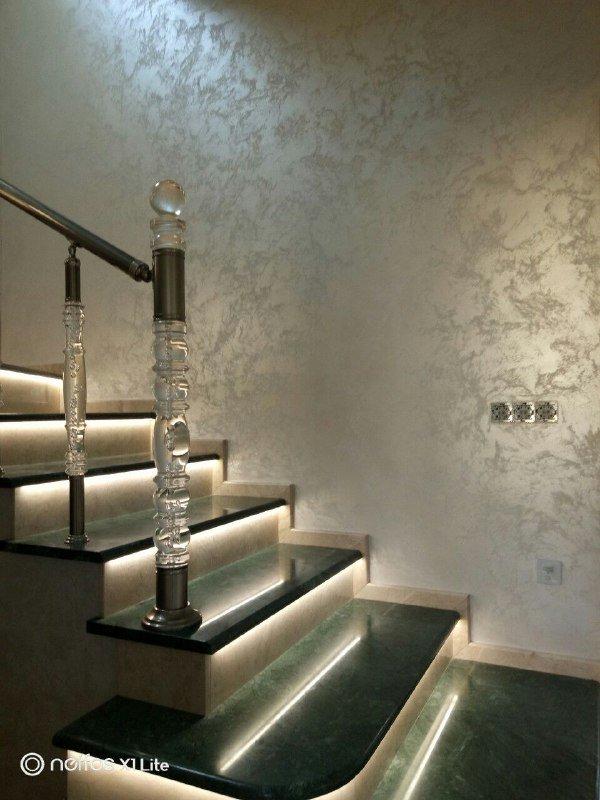 Декоративна штукатурка та покраска стін у Вишневому, фото-1
